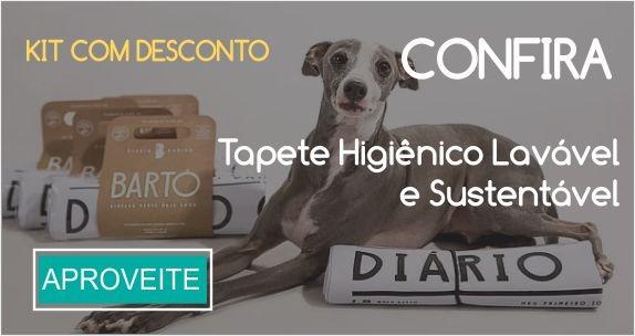 tapetes higienicos cães